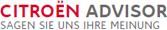 Bewerten Sie uns bei Citroen Advisor